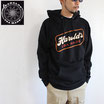 "HAROLD'S IRON WORKS ""Cold One pull over hood"" パーカ"