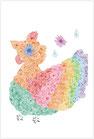 虹色の小鳥