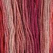 Wolle mehrfarbig BU34 / 210 Gramm