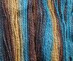 Wolle mehrfarbig BU67 / 160 Gramm