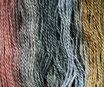 Wolle mehrfarbig BU42 / 160 Gramm