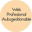 Página Web Profesional-Autogestionable