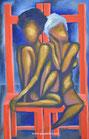 Desnudas en la silla