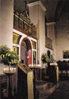 Große Kirche Ikonostase Schrägansicht