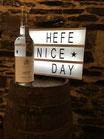Nr. 40 - Feiner Mosel Hefrand 0,7 ltr.    Hefe nice Day!