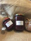 rote Weinbergspfirsich Marmelade