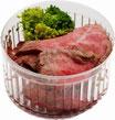 無添加ドッグフード 手作り食 黒毛和牛のローストビーフ