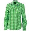 bluse green/white