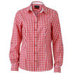 bluse red/white