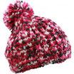 strickmütze pink/white