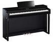 Yamaha Clavinova CLP 725 PE Digitalpiano schwarz poliert