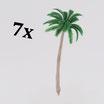 Palm trees / ferns large (variant 2)   Palmen/Farne groß (Variante 2)