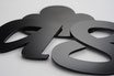 Black Gloss 2mm Custom shape - Laser cut