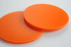 Orange 3mm Circle - Laser cut