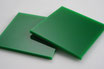 Green 3mm Rectangle/Square - Cut&Polish