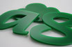 Green 3mm Custom shape - Laser cut