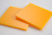 Orange Yellow 3mm Rectangle/Square - Laser cut