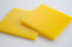 Yellow 3mm Rectangle/Square - Laser cut