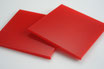 Dark Red 3mm Rectangle/Square - Laser cut