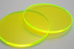 Luminous Green 3mm Circle - Laser cut