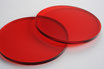 Tinted Red 3mm Circle - Laser cut