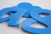 Sky Blue 3mm Custom shape - Laser cut