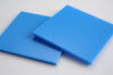 Sky Blue 3mm Rectangle/Square - Cut&Polish