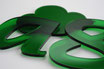 Tinted Green 3mm Custom shape - Laser cut