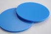 Sky Blue 3mm Circle - Cut&Polish