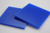 Blue 3mm Rectangle/Square - Cut&Polish