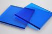Tinted Blue 3mm Rectangle/Square - Cut&Polish