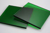 Tinted Green 3mm Rectangle/Square - Cut&Polish