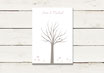 Gästeleinwand | Wedding Tree | Fingerprint Leinwand | Hochzeit | No 6