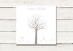 PDF Datei | Gästeleinwand | Wedding Tree | Fingerprint Leinwand | Hochzeit | No 4