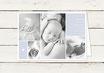 Babykarte | Geburtskarte | Danksagung | Taufkarte | Klappkarte | Junge