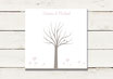 Gästeleinwand | Wedding Tree | Fingerprint Leinwand | Hochzeit | No 4