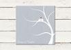 PDF Datei | Gästeleinwand | Wedding Tree | Fingerprint Leinwand | Hochzeit | No 1
