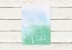 PDF Datei | Hochzeitseinladung | Liebe | Aquarell Look | No 3