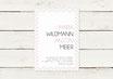PDF Datei | Hochzeitseinladung | Stripes
