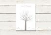 PDF Datei | Gästeleinwand | Wedding Tree | Fingerprint Leinwand | Hochzeit | No 6