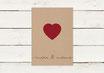 Hochzeitseinladung | Kraftpapier | No 1