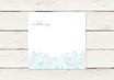 Hochzeitseinladung | Quadrat | Flowers | No 1