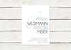 Hochzeitseinladung | Typografie | No 2