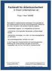 Arbeitsschutzorganisation - Aushänge / Bestellungen