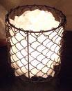 SLBE080 BERGKRISTAL LAMP KORF 17 CM