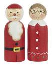 Weihnachtsmann/Frau  Ib Laursen klein