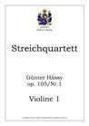 Streichquartett, op. 105, Nr. 1