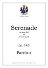 Serenade im alten Stil für 3 Celli, op. 145