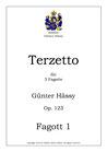 Terzetto für 3 Fagotte, op. 123