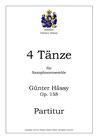 Vier Tänze für Saxophon-ensemble, op. 158